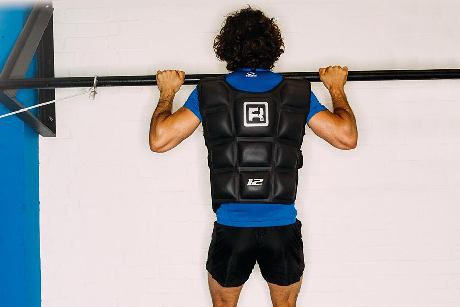 Joe Wicks weighted pull-ups ()