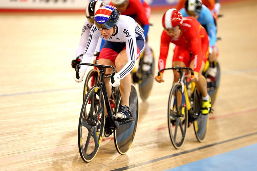 Becky James cycling ()