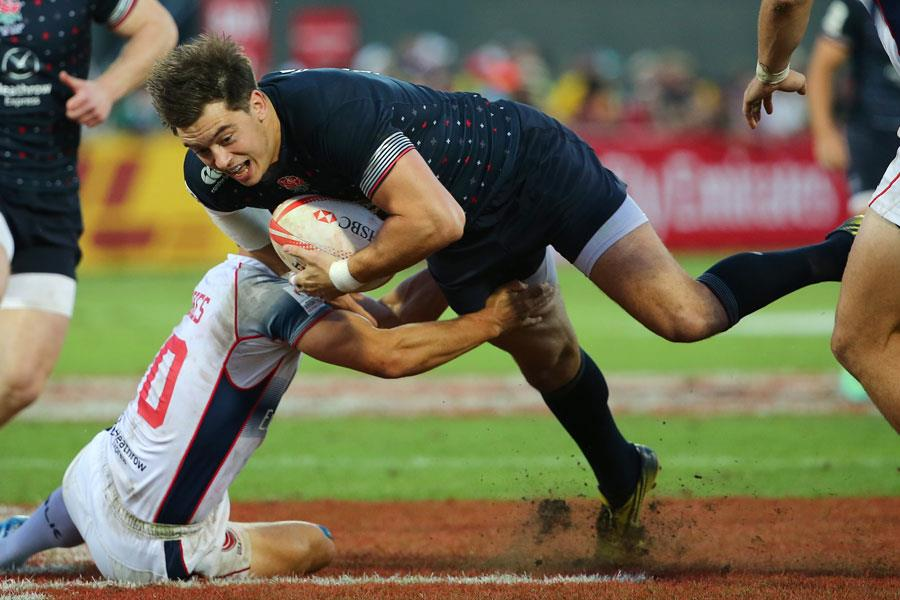 Alex Gray playing Rugby sevens ()