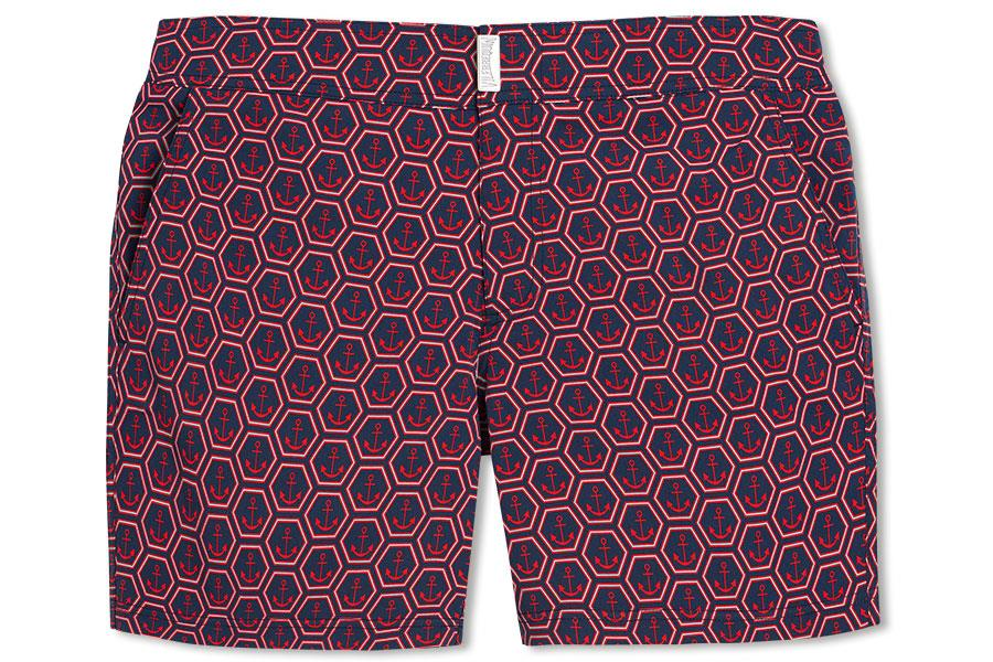 Vilebrequin red swim shorts ()