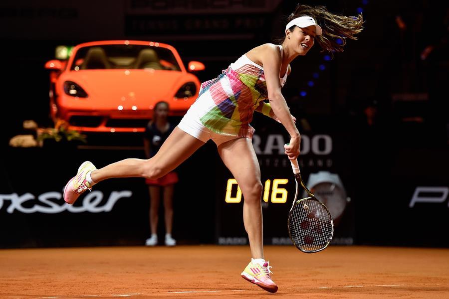 Ana Ivanovic serve ()