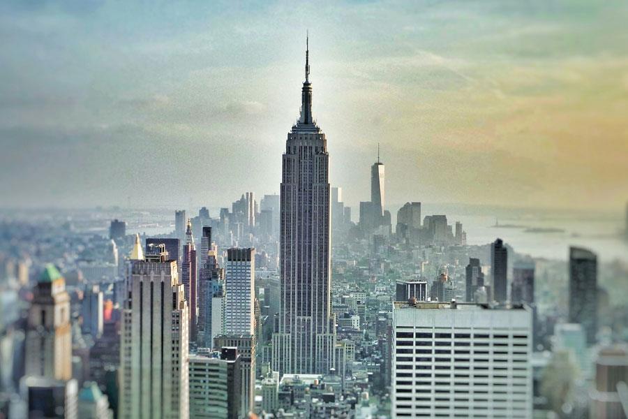 New York skyline ()
