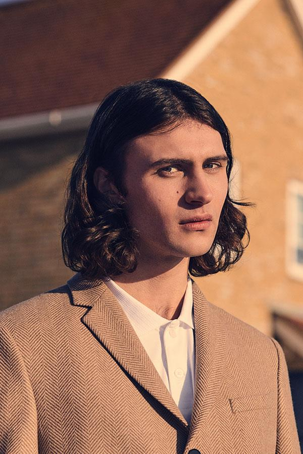 90s menswear fashion shoot in Canvey for FS magazine ()