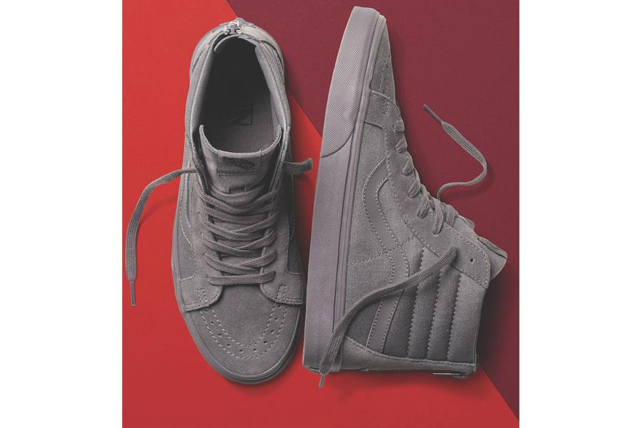 Vans monochromatic collection grey ()