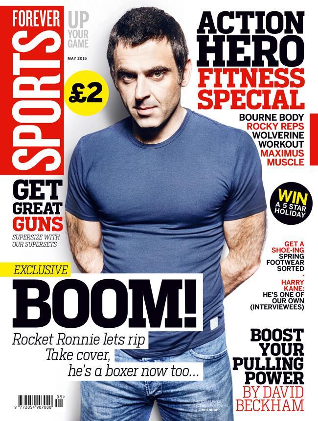 FS magazine cover May 2015 Ronnie O'Sullivan ()