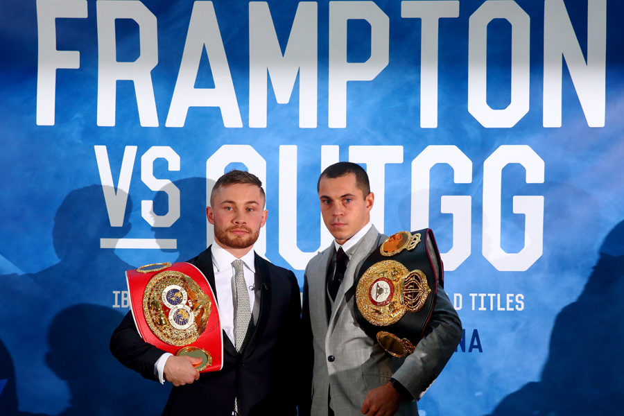 Frampton vs Quigg (Getty images, Charles McQuillan)