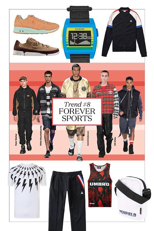 FS magazine men's style trends spring summer 2017 forever sports ()