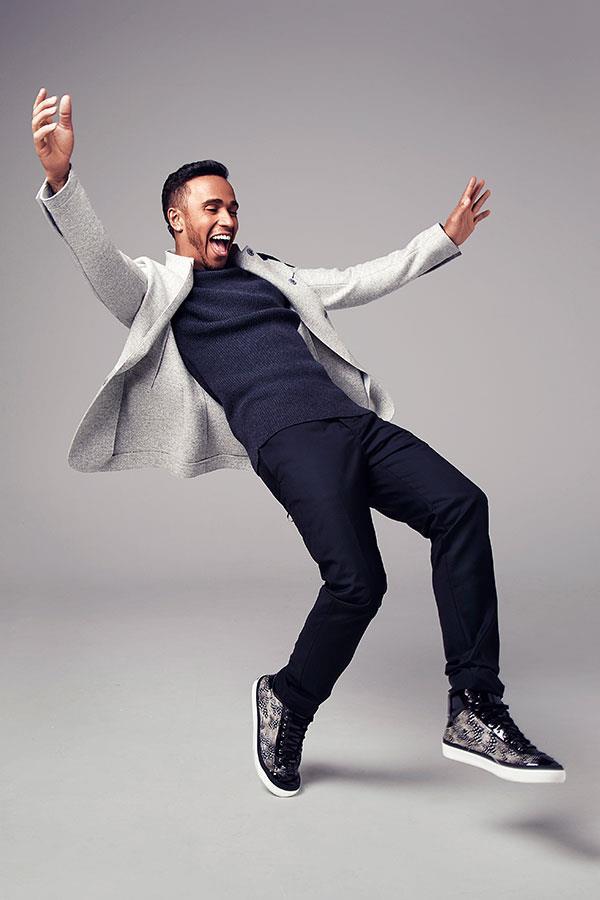Lewis Hamilton style shoot ()