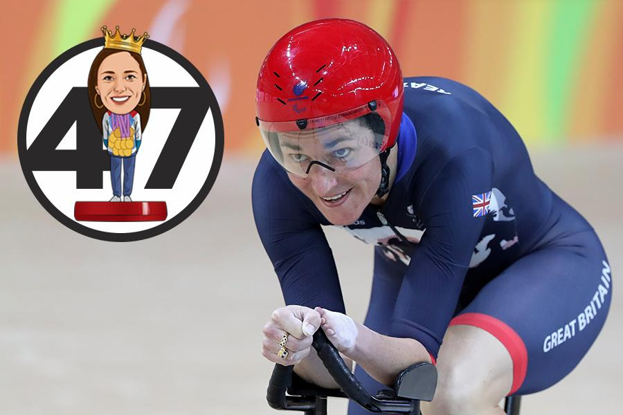 Dame Sarah Storey  (Getty Images)