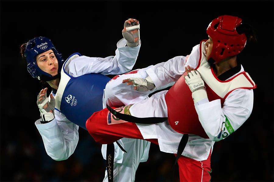 Fighting at rio (Getty images)