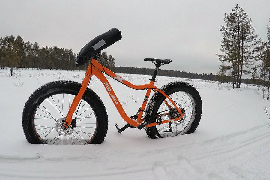Fat bike in Martinselkonen with FS magazine ()