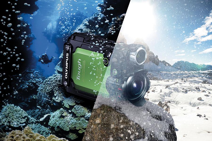 Olympus Stylus TG-Tracker action camera ()