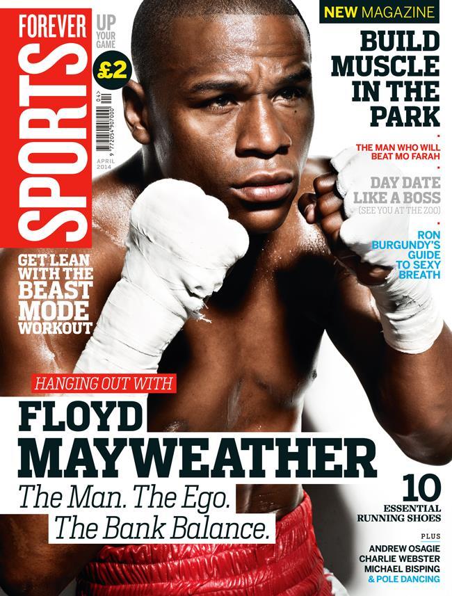 FS magazine cover April 2014 Floyd Mayweather ()