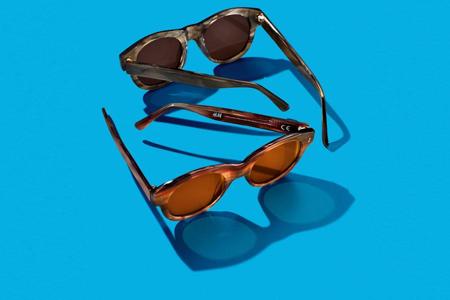 Grey/Brown sunglasses from H&M ()
