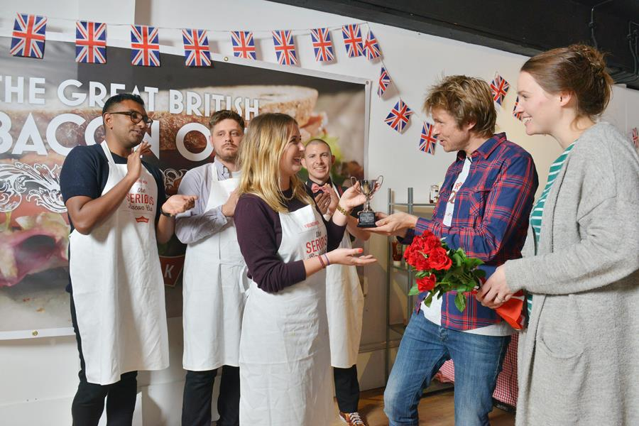Sophie Armitage wins The Great British Bacon Off ()