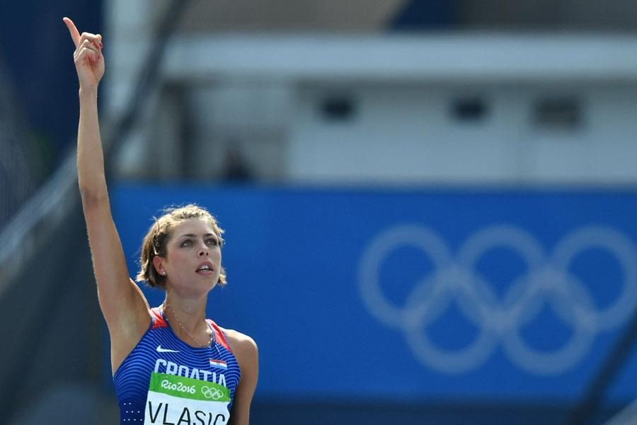 Blanka Vlasic high jump ()