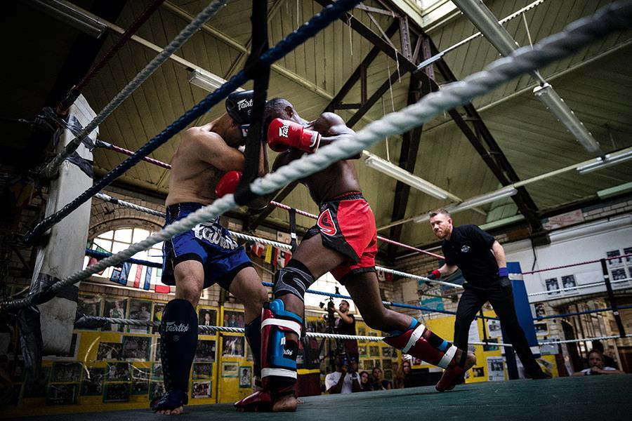 Idris Elba Kickboxing ()