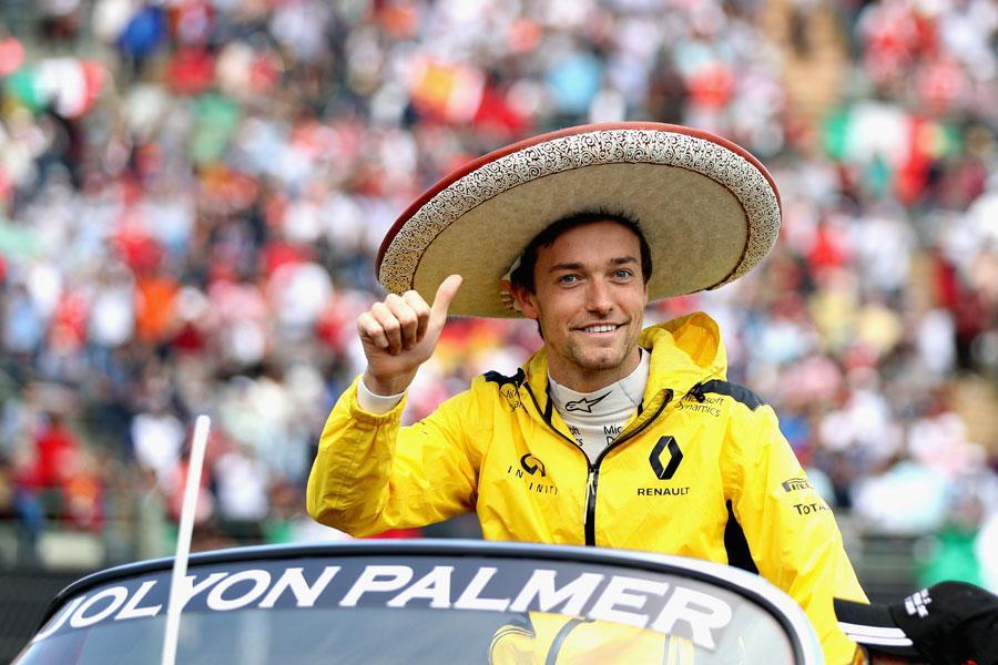 Jolyon Palmer Mexico ()
