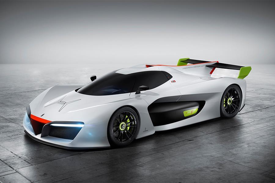 Pininfarina zero-emission track car (PR Shot)