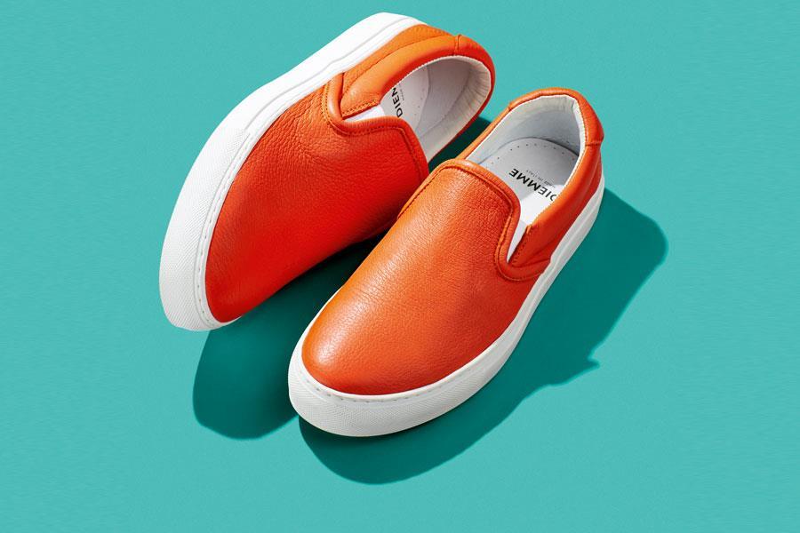 Bright Orange slip-ons Diemme footwear ()