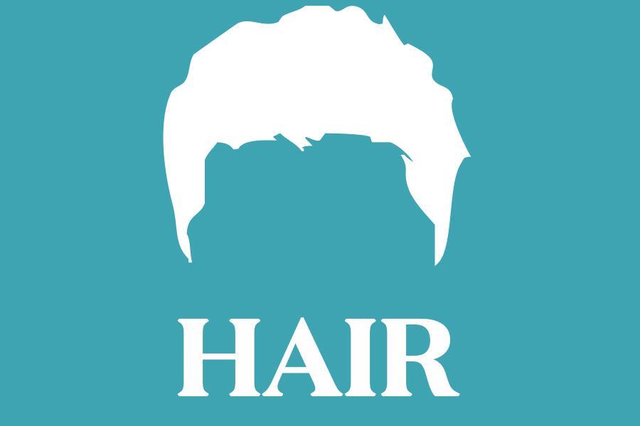 Hair illustration ()