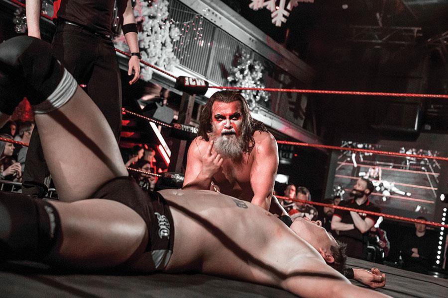 Insane championship wrestling  ()