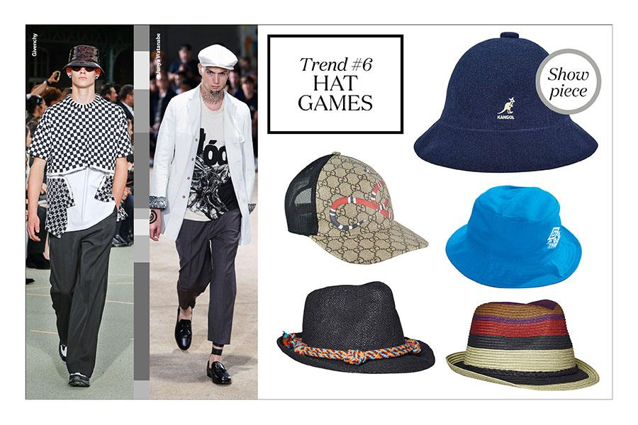 FS magazine men's style trends spring summer 2017 hats ()