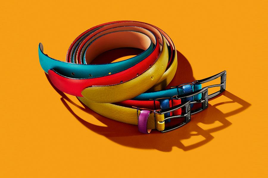Brightly coloured Ted Baker belts ()