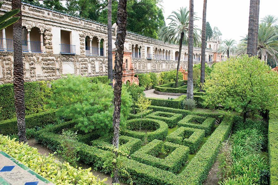 Alcazar of Seville Dorne Palace Game of Thrones ()