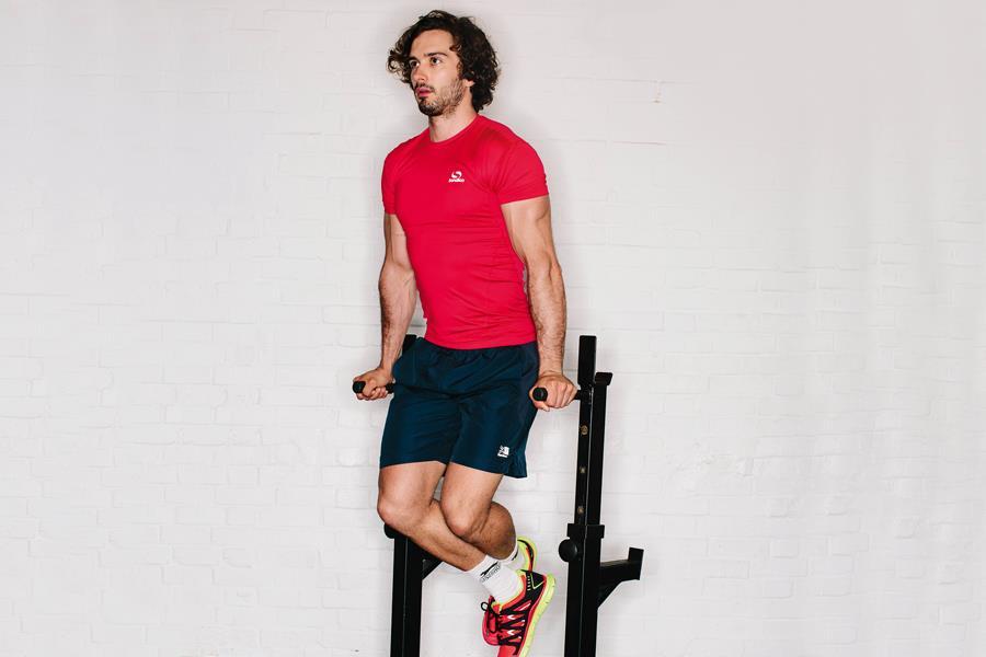 Joe Wicks the body coach triceps dips ()