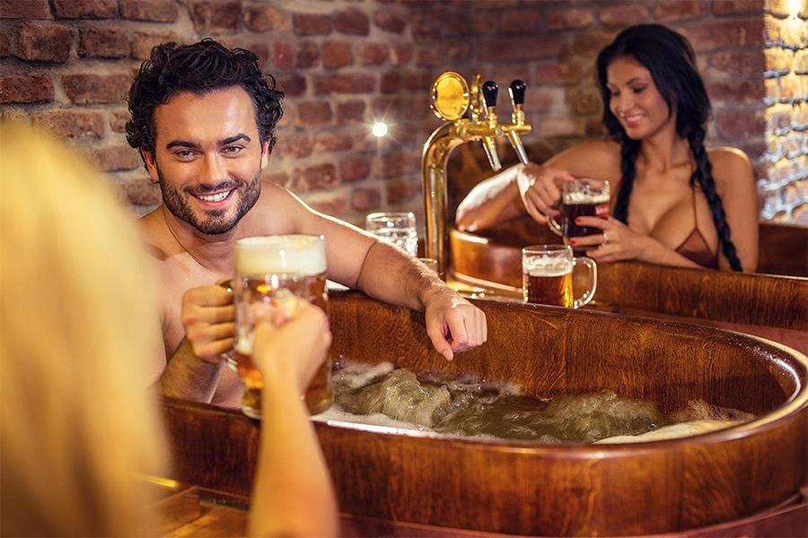 Beer spa (Promo shot)