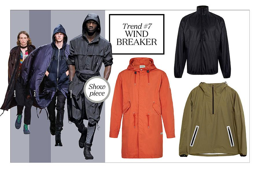 FS magazine men's style trends spring summer 2017 Wind breakers ()