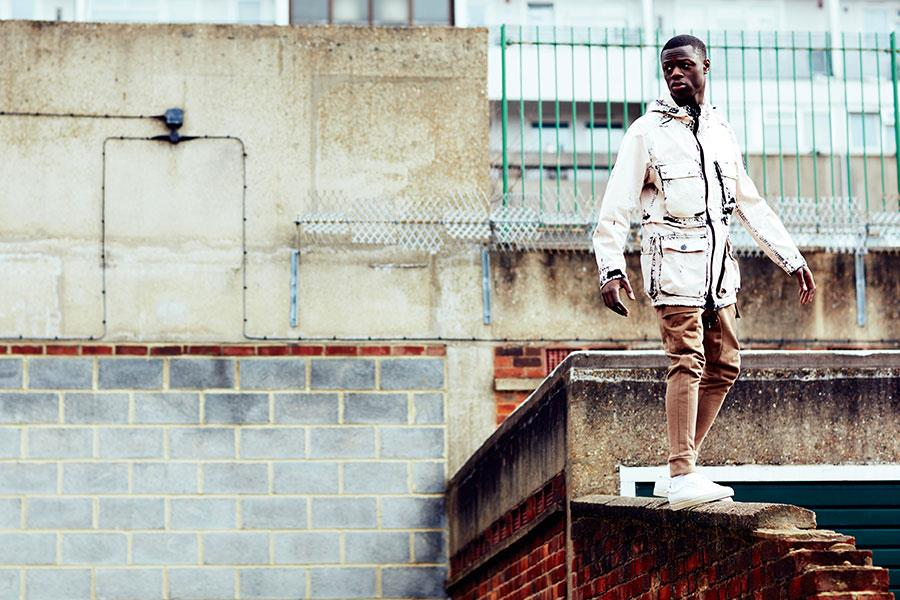 J Hus modelling for FS magazine style shoot ()