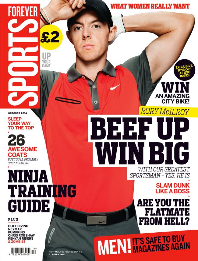 FS magazine cover October 2014 Rory McIlroy ()