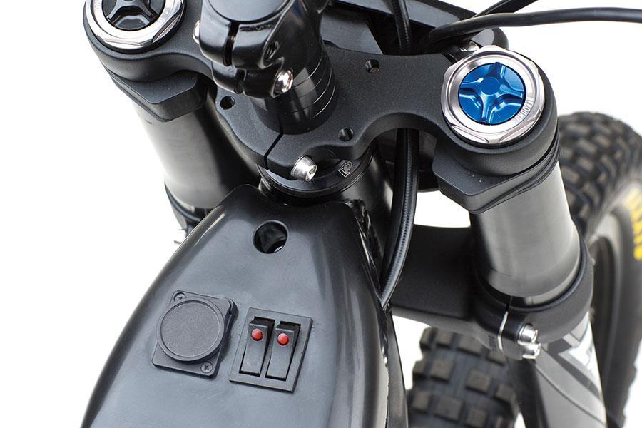 Kuberg freerider iphone buttons ()