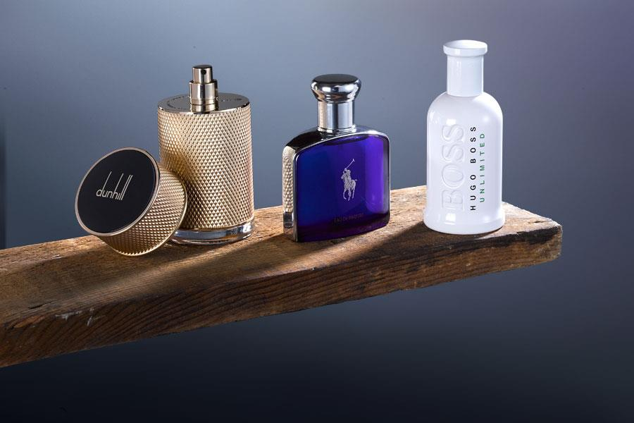Dunhill Icon, Ralph Lauren polo, Boss Bottled Unlimited ()