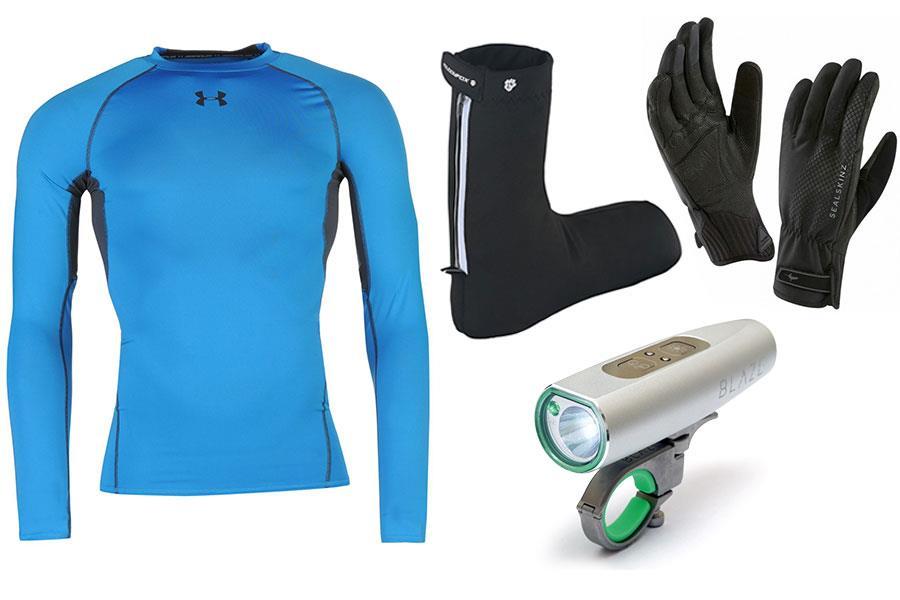 Winter cycling equipment ()
