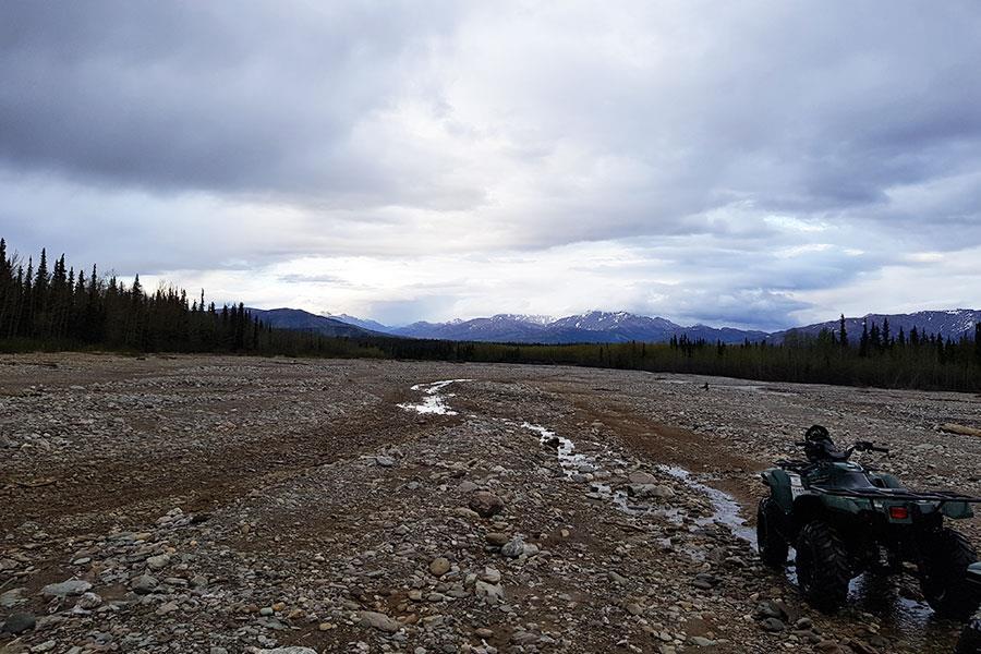 Denali ATV wilderness tour in Alaska ()