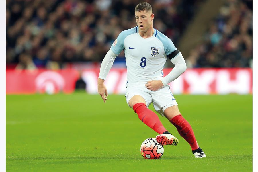 Ross Barkley playing for England ()