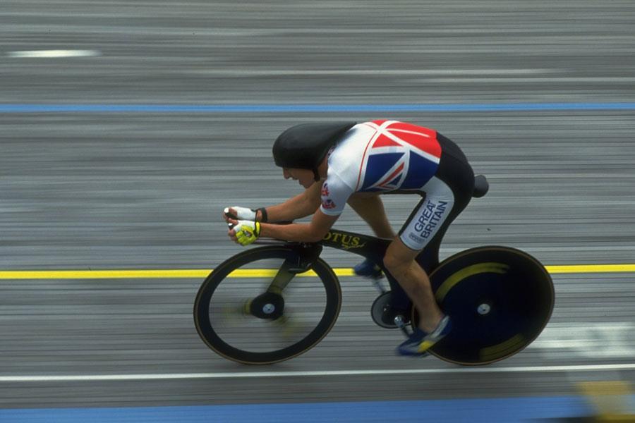 Chris Boardman cycling pursuit ()