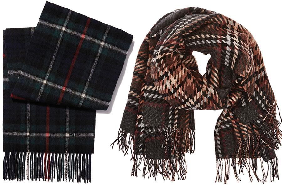 Checked scarf Howick at House of Fraser, Checkered Reiss scraf ()