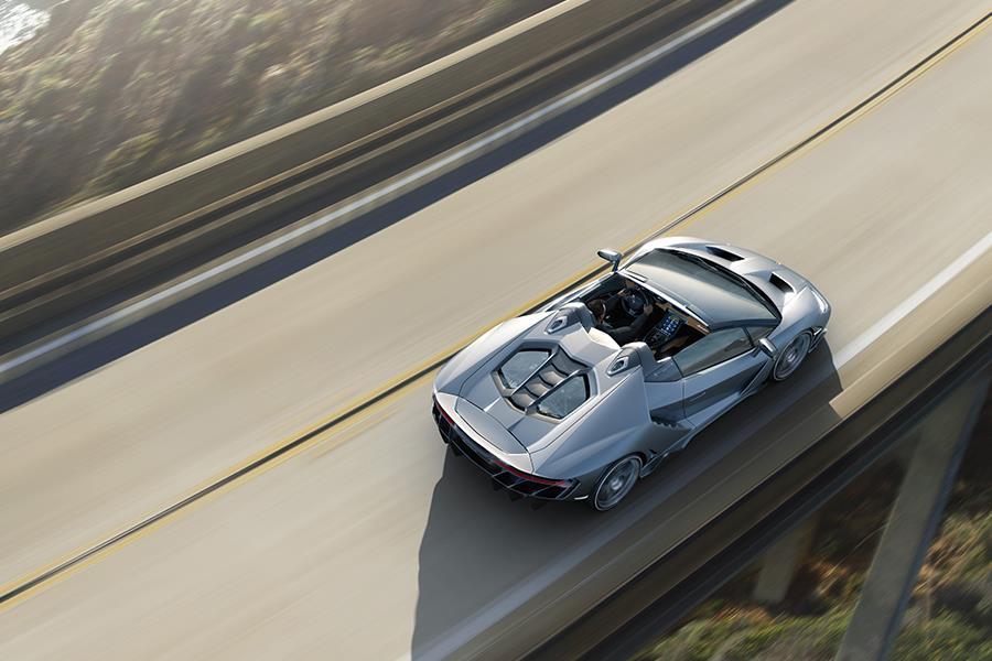 Lamborghini Centenario Roadster top ()