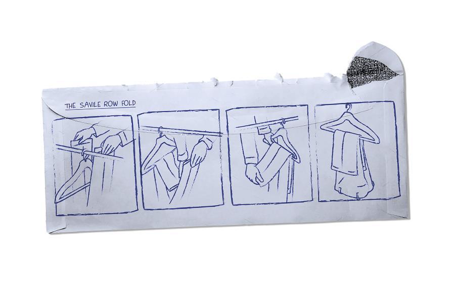 Saville row fold trousers ()