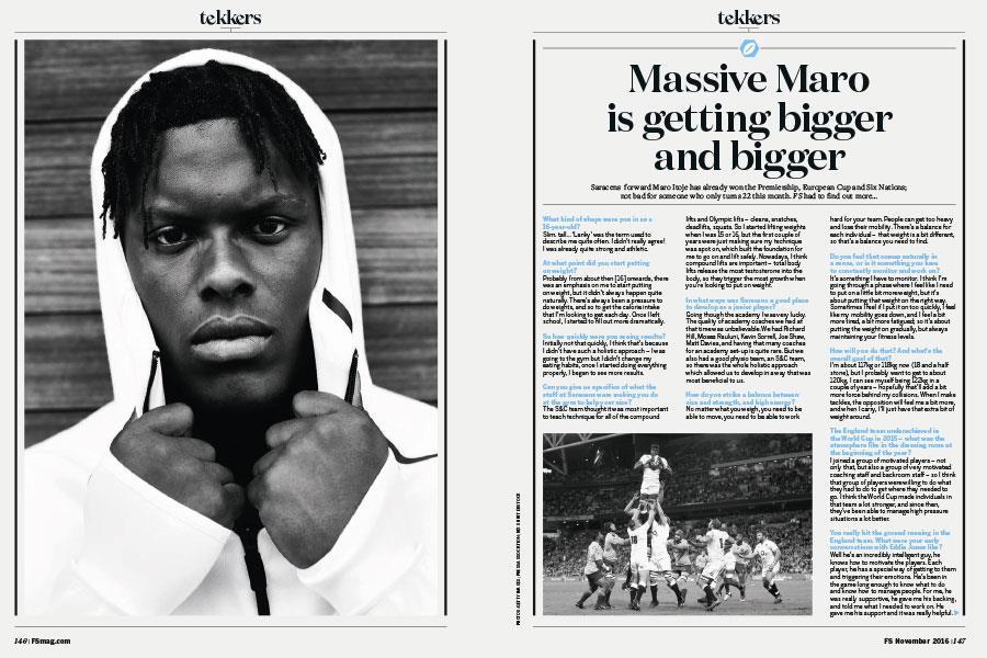 Maro Itoje FS Magazine ()