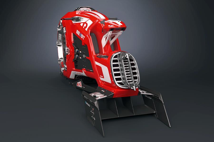 The beast hover bike ()