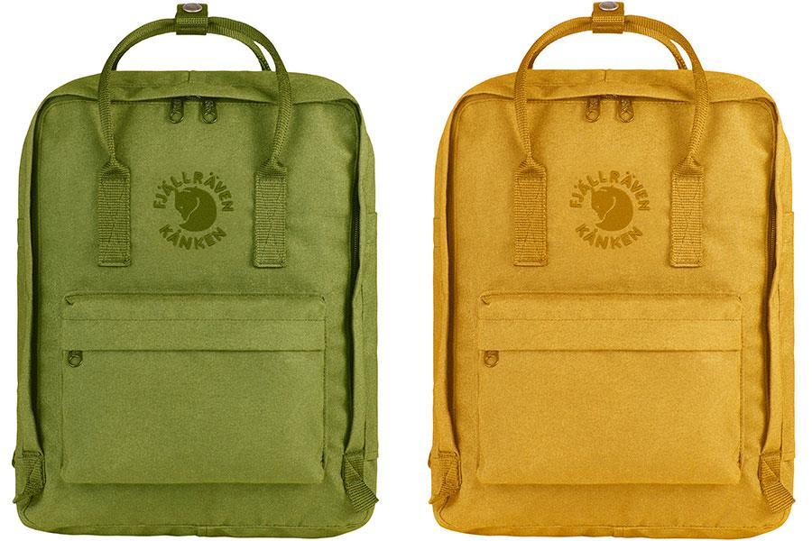 Fjallraven re-kanken yellow green ()