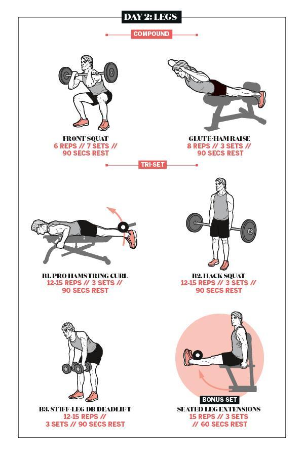 Shaun Stafford leg workout plan ()