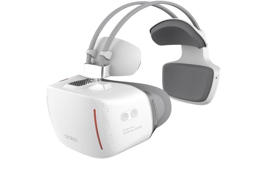 Alcatel's Vision VR goggles ()