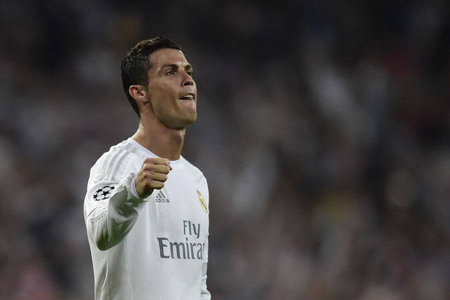 Ronaldo celebrates for Real Madrid ()