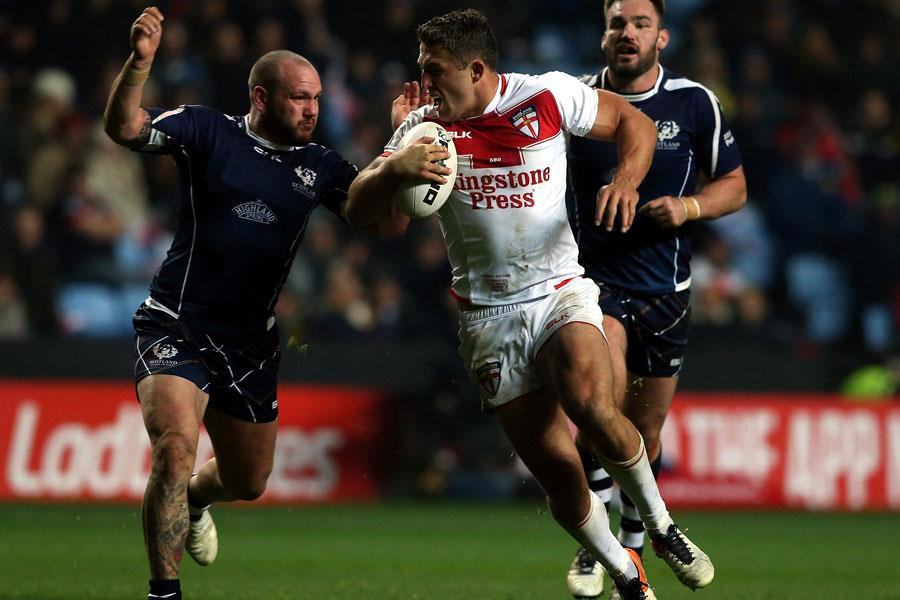 Sam Burgess face rugby league england ()